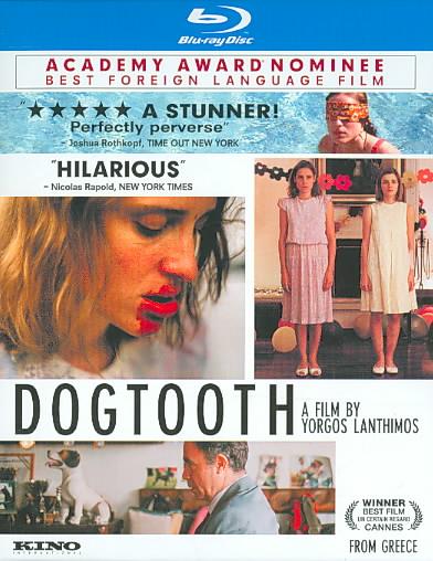 DOGTOOTH BY LANTHIMOS,GIORGOS (Blu-Ray)